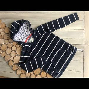 Terry cotton beach hoodie